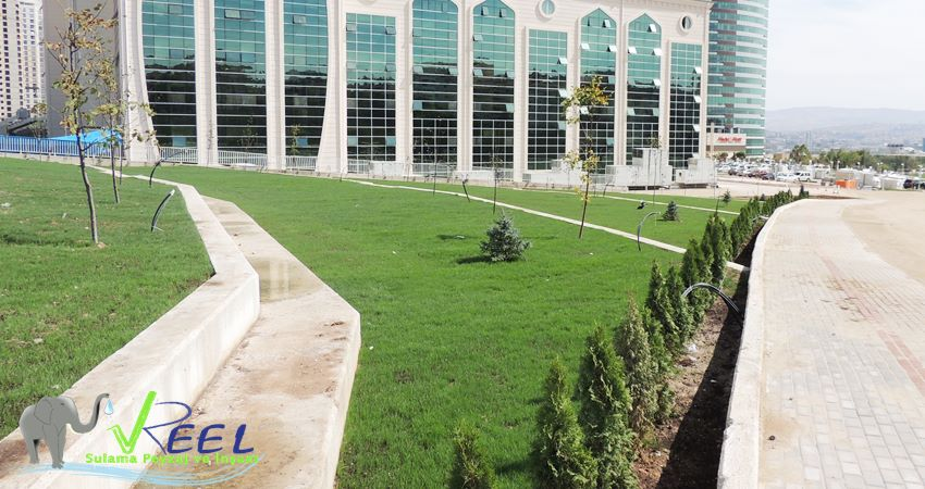 Etlik Yıldırım Beyazıt Üniversitesi Peyzaj Proje